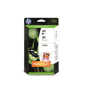 GENUINE HP 301 TWIN PACK J3M81AE